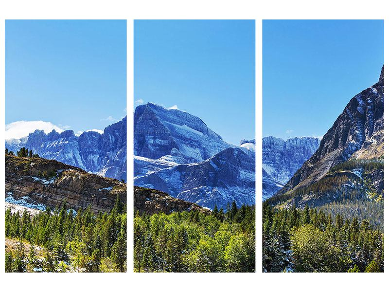 3 Piece Acrylic Print The Summit Counter