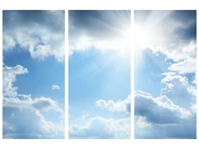 3 Piece Acrylic Print Sky Hope