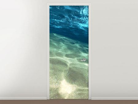 Door Mural Under The Water