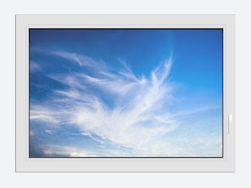 Window Print Cirrostratus Clouds