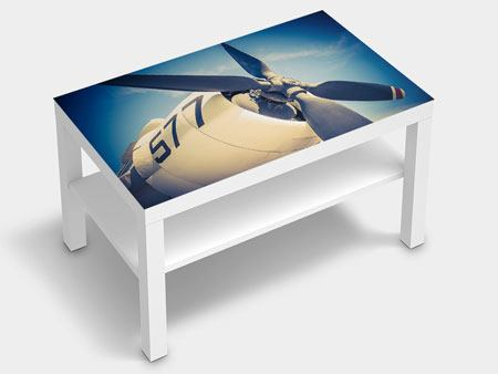Furniture Foil Close Up Propeller Plane