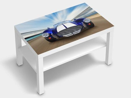 Furniture Foil Racing Car