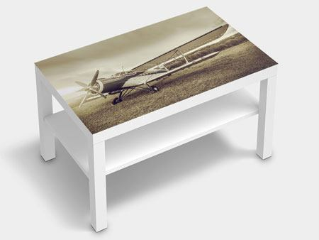 Furniture Foil Nostalgic Aircraft In Retro Style