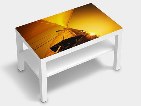 Furniture Foil Sailboat In The Sunset