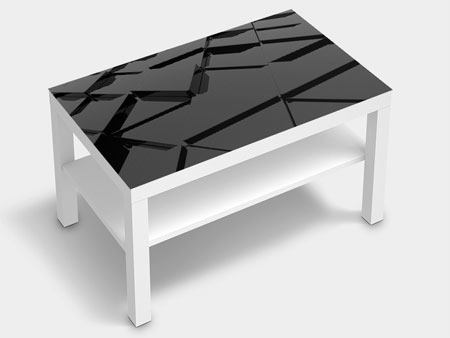 Furniture Foil 3D Triangular Surfaces