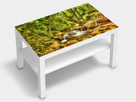 Furniture Foil Waterfall In The Forest