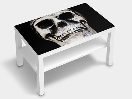 Furniture Foil Skull