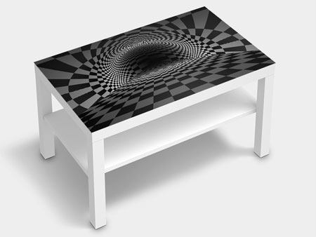 Furniture Foil Abstract Chessboard