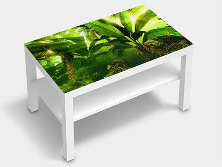 Furniture Foil Sunrise In The Rainforest