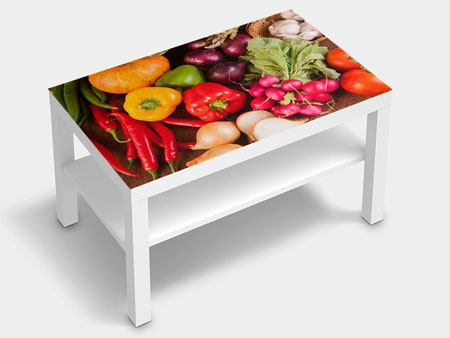 Furniture Foil Healthy Vegetables