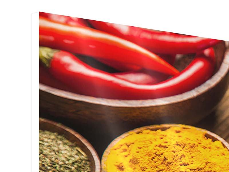 Panoramic Forex Print Hot Spices