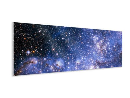 Panoramic Forex Print Starry Sky