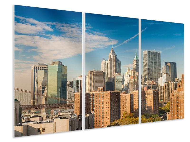 Tableau Forex en 3 parties Ligne d'horizon de New York
