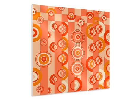 Forex Print Moving Retro Circles