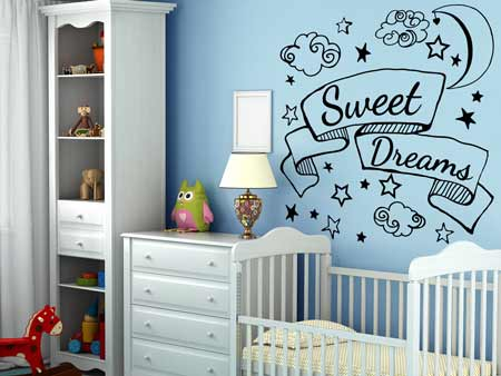 Sticker muraux Sweet Dreams