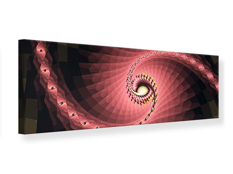 Panoramic Canvas Print Abstract Windings