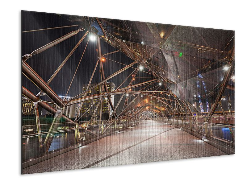 Metallic Print Bridge Lights