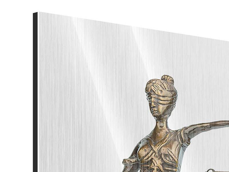 Metallic Print Justitia