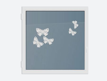 Decorative Window Film 5 butterflies