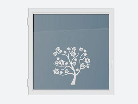 Decorative Window Film blossom tree