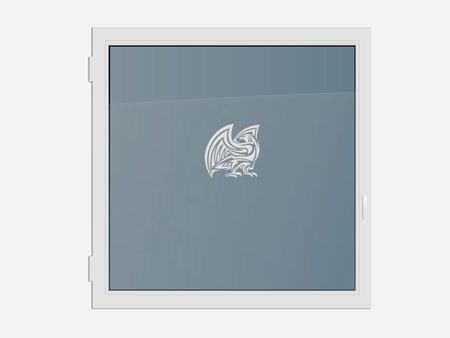 Decorative Window Film The Eagle
