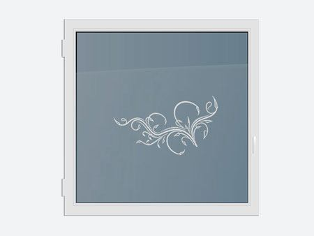 Decorative Window Film playful tendril