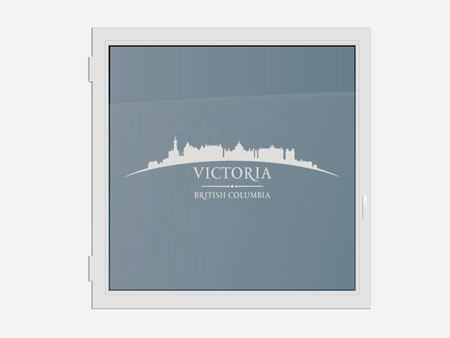 Decorative Window Film Skyline Victoria