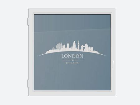 Decorative Window Film Skyline London