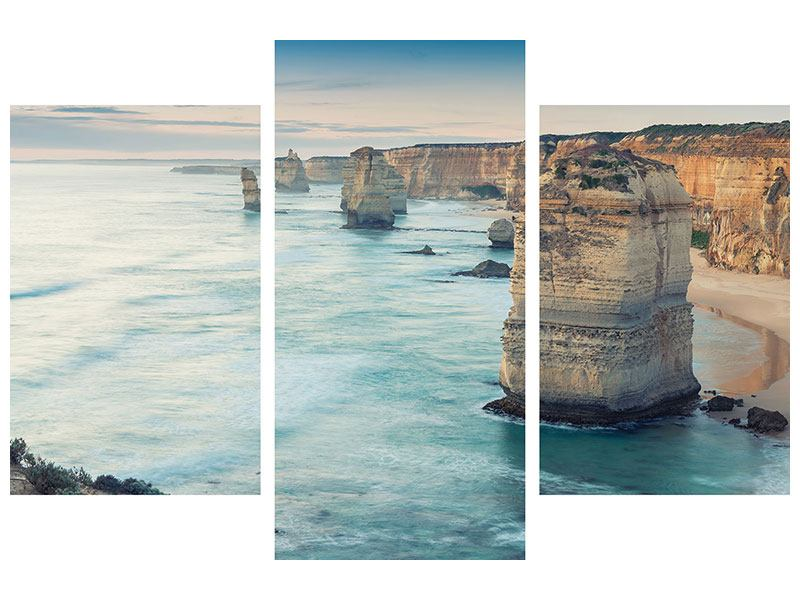 Modern 3 Piece Poster Cliffs