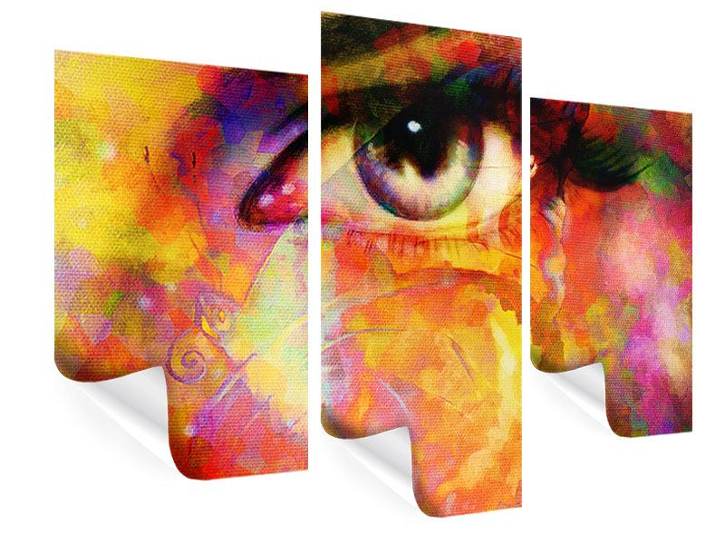 Modern 3 Piece Poster The Eye
