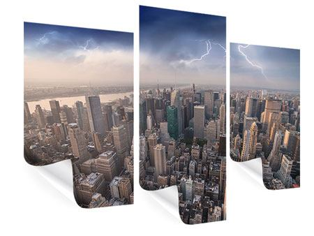 Modern 3 Piece Poster Manhattan