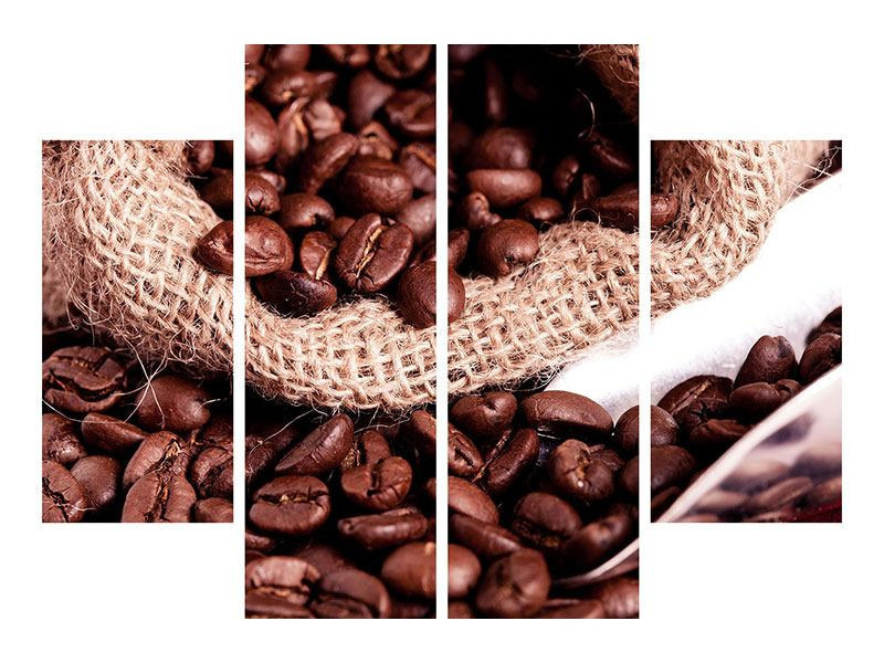 4 Piece Poster XXL Coffee Beans