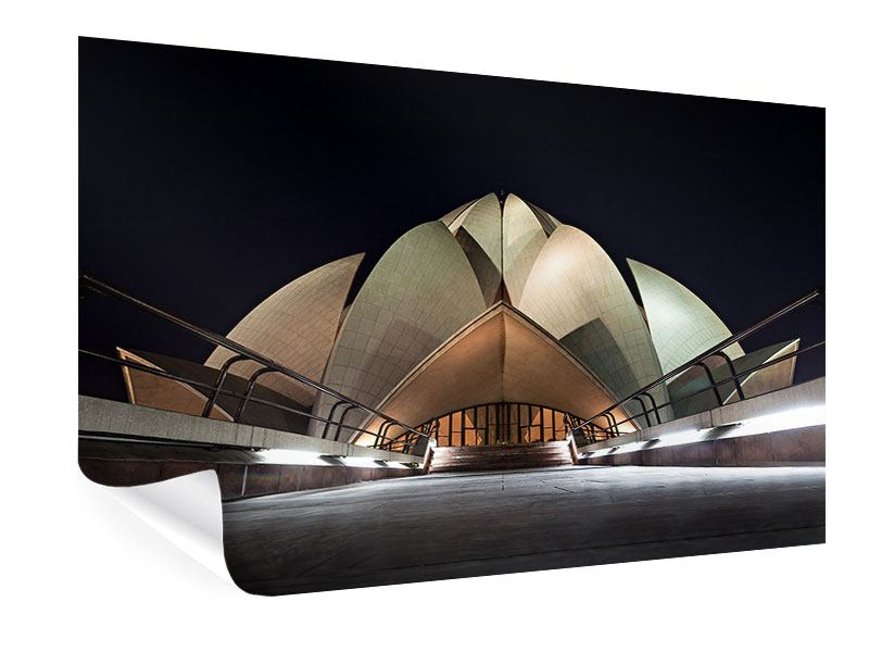 Poster The Lotus Temple