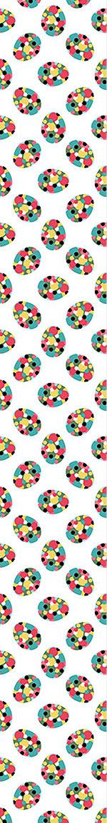 Design Wallpaper Easter Eggs With Polka Dots