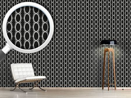 Design Wallpaper Chained Ovals
