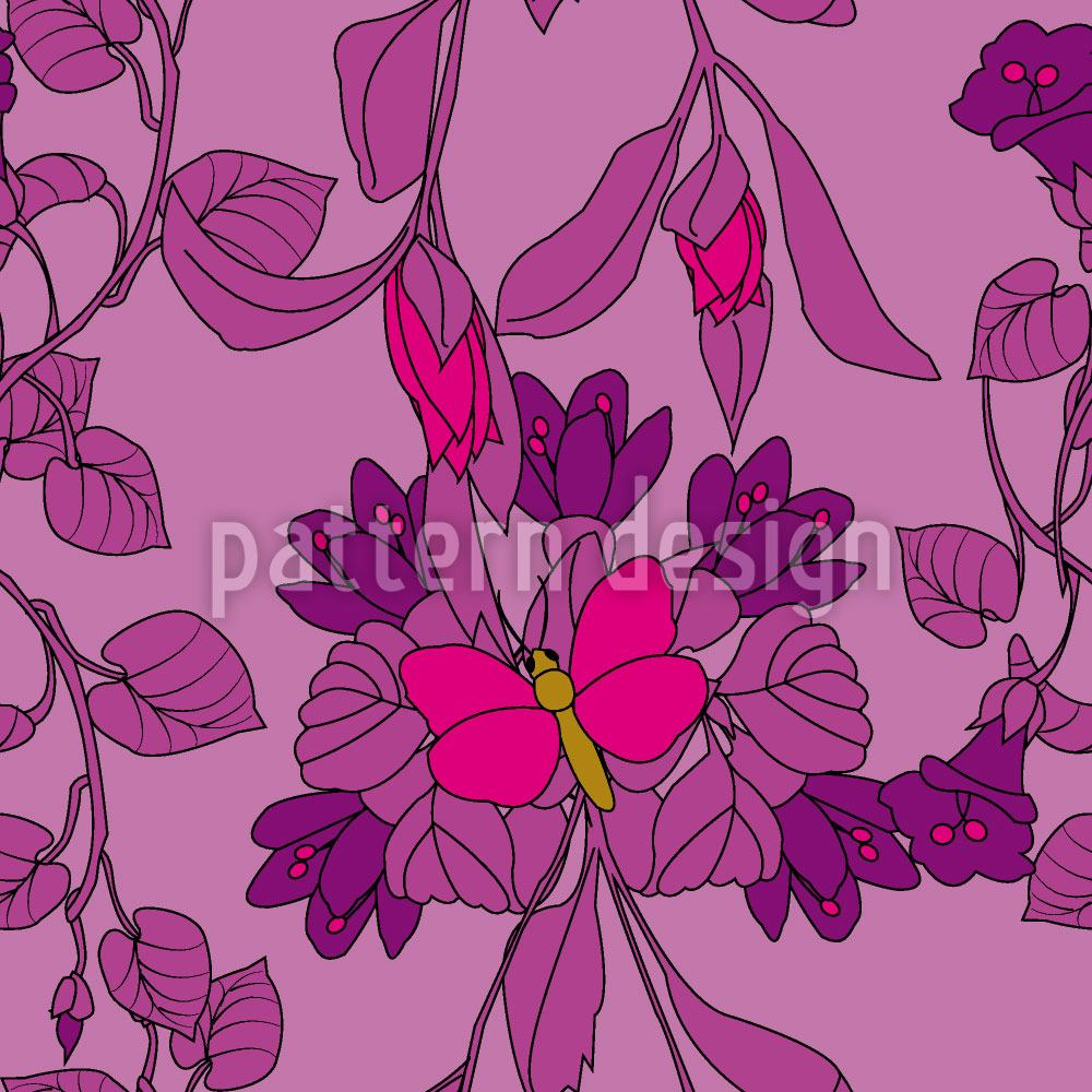 Papel tapiz de diseño The Butterfly House