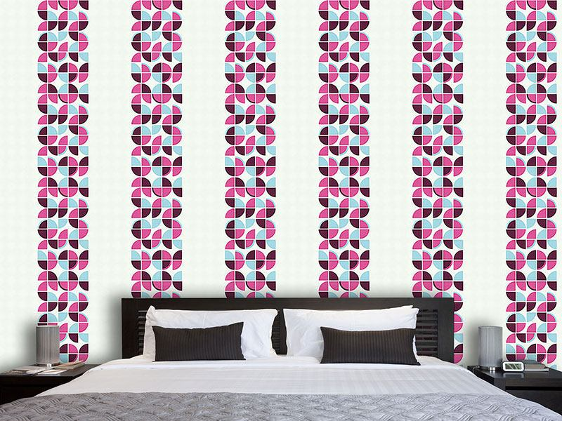 Design Wallpaper Retropolos Pink