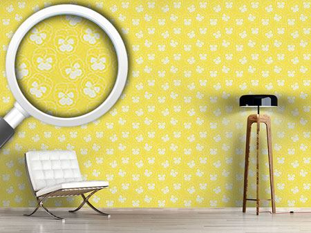 Design Wallpaper Violetta Yellow
