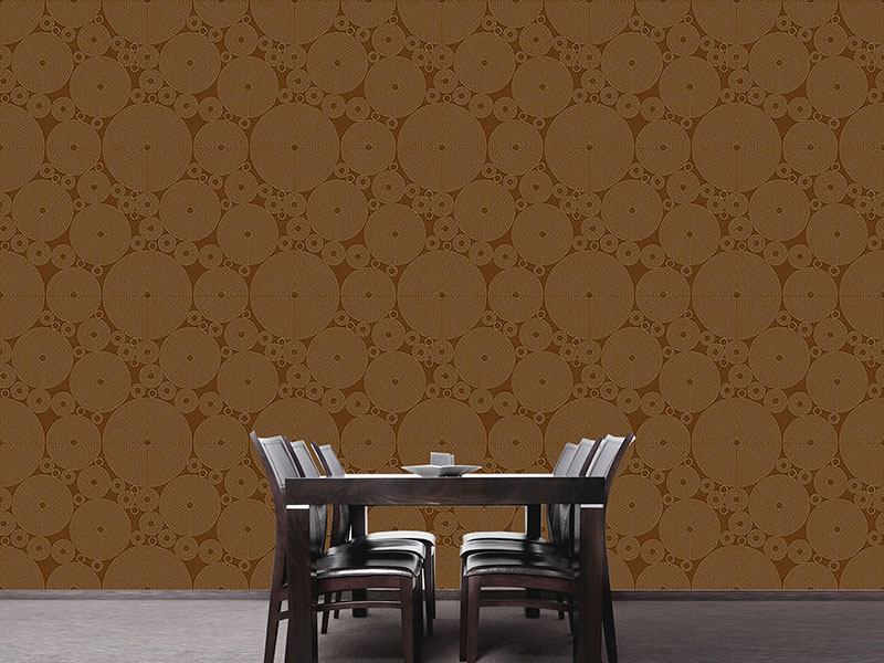 Design Wallpaper Outlined Circles