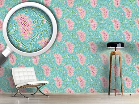 Papier peint design Exotic Tendrillars