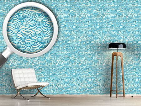 Papel tapiz de diseño They Dreamed Of Gentle Ocean Waves