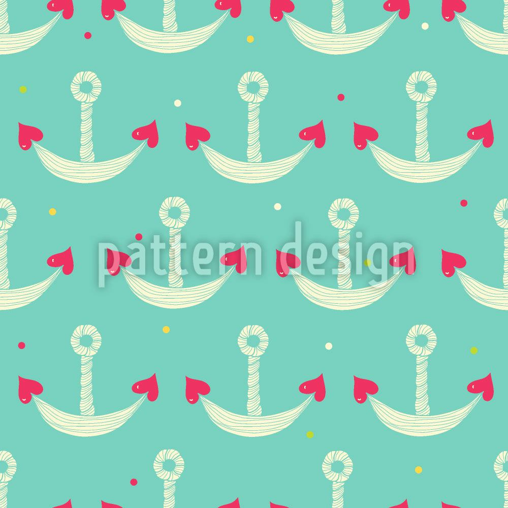 Design Wallpaper Anchor With Heart