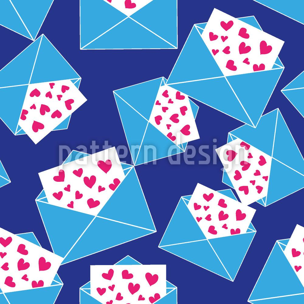 Papier peint design So Many Love Letters