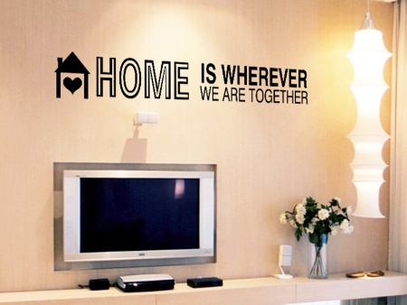 Sticker muraux HOME