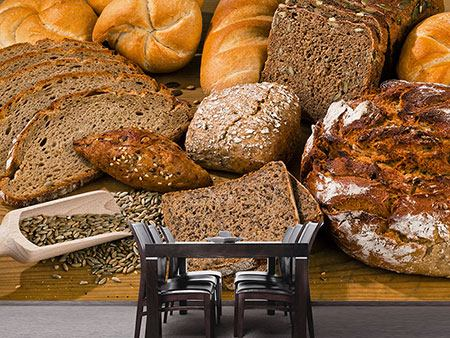 Photo Wallpaper Bread Types