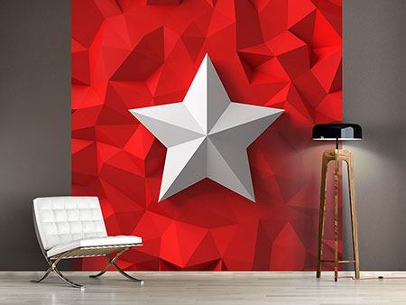 Photo Wallpaper 3D Star