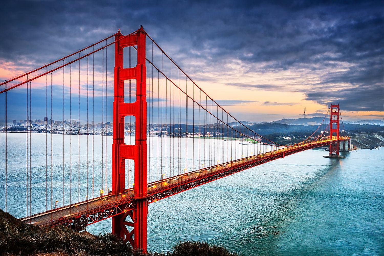 Photo Wallpaper The Golden Gate Bridge