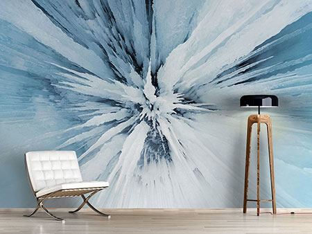 Photo Wallpaper Ice Art